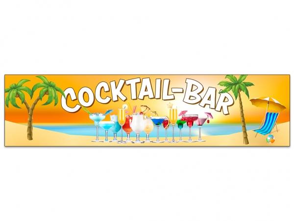 Aufkleber COCKTAIL-BAR Beach Cocktails Strand Meer