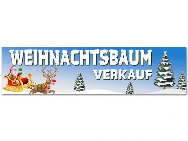 Aufkleber WEIHNACHTSBAUM VERKAUF - Christmas - Xmas - Schnee - V02