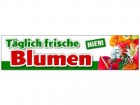 Aufkleber TÄGLICH FRISCHE BLUMEN - HIER! Werbung Floristik