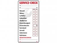 10 Stück KFZ Inspektionsaufkleber - Service Aufkleber Check