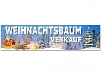 Aufkleber WEIHNACHTSBAUM VERKAUF - Christmas - Xmas - Schnee - V01
