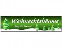 Aufkleber WEIHNACHTSBÄUME VERKAUF - Christmas - Xmas - Schnee - V1G
