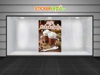 Plakat HEIßE SCHOKOLADE Werbung verschiedene Din-Formate