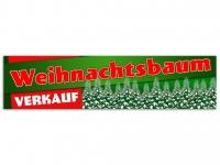 Aufkleber WEIHNACHTSBAUM VERKAUF HIER - Christmas - Xmas - Schnee - VRG