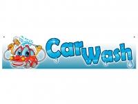 Aufkleber CAR WASH für Waschanlagen - Autowäsche