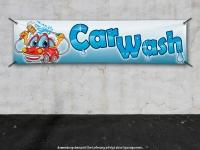 PVC-Banner CAR WASH für Waschanlagen - Autowäsche