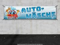 PVC-Banner AUTOWÄSCHE für Waschanlagen - Car-Wash